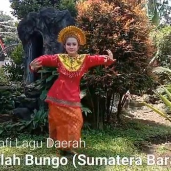 Koreografi Lagu Kambanglah Bungo Sumatera Barat_Yosuke